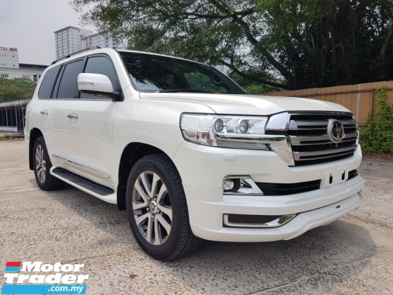2016 TOYOTA LAND CRUISER ZX 4.6L V8 PETROL (UNREG) HIGH SPEC