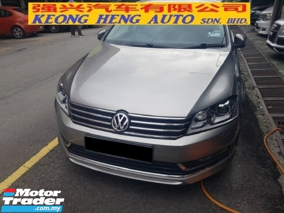 2015 VOLKSWAGEN PASSAT 1.8 TFSI (CKD LOCAL SPEC)