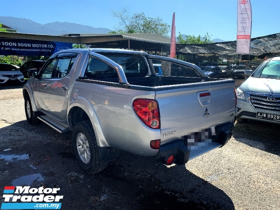 2012 MITSUBISHI TRITON 2.5 VGT EURO PREMIUM FULL SPEC BLACKLIST CAN LOAN(AUTO)2012 Only 1 UNCLE Owner, 78K Mileage, TIPTOP