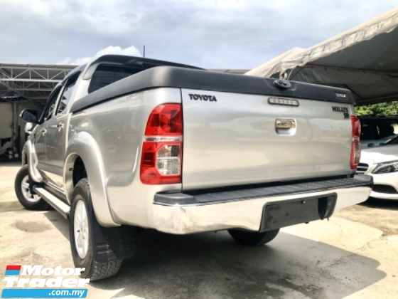 2013 TOYOTA HILUX 3.0 VNT (A) FACELIFT 4x4 PICK UP CAR KING