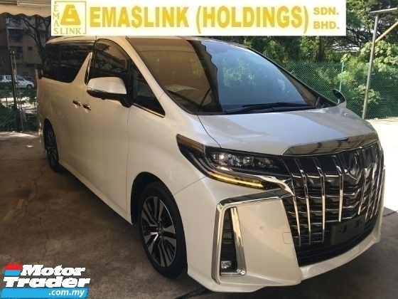 2018 TOYOTA ALPHARD SC  S C PACKAGE MPV FACELIFT SUNROOF FULL VIEW CAMERA LEATHER SEAT