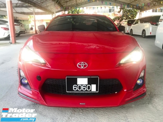 2013 TOYOTA 86 2.0 GT HKS SUSPENSION HKS EXHAUST GREEDY METER THROLETTE CONTROL