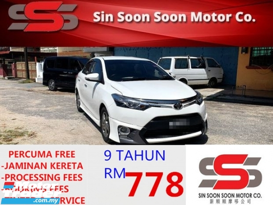 2014 TOYOTA VIOS 1.5 TRD SPORTIVO PREMIUM FULL SPEC BLACKLIST CAN LOAN(AUTO)2014 Only 1 LADY Owner, 69KM, TIPTOP, TRD SPORTIVO BODYKIT & LEATHER SEAT HONDA TOYOTA NISSAN MAZDA PERODUA MYVI AXIA VIVA ALZA SAGA PERSONA EXORA ERTIGA VIOS YARIS ALTIS CAMRY VELLFIRE CITY KIA