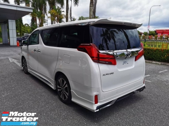 2019 TOYOTA ALPHARD 2019 ToyotaALPHARD with Upgraded Navigation System