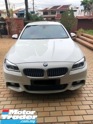 2014 BMW 5 SERIES 528i 2.0 M SPORT FACELIFT MODEL SEPT 2014 GUARANTEE ORI 46K KM FULL SERVICE RECORD BY BMW MALAYSIA