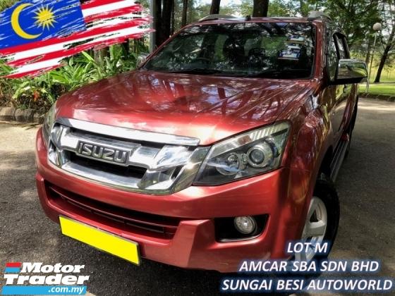 2014 ISUZU D-MAX 2.5L 4X4 DOUBLE CAB (M) VGS TURBODIESEL