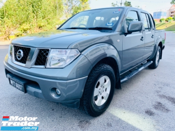 2013 NISSAN NAVARA NISSAN NAVARA 2.5 DIESEL 4 X 2 (A) TOWN USE ONLY NEVER OFFROAD LIKE 4X 4