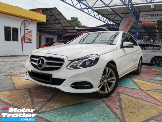 2014 MERCEDES-BENZ E-CLASS Mercedes Benz E200 AVANTGARDE W212C F/LIFT WRRANTY