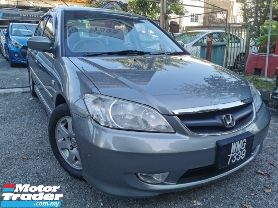 2005 HONDA CIVIC 1.7 (A) 1 OWNER