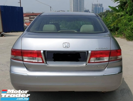 2005 HONDA ACCORD 2.0 VTI (A) CAR LIKE NEW VIEW TO BELIEVE