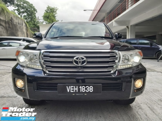 2012 TOYOTA LAND CRUISER DIESEL 4.5L TWIN TURBO V8 2014