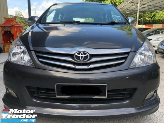 2011 TOYOTA INNOVA 2.0E (MT)  TIPTOP FAMILY CAR TIPTOP CONDITION