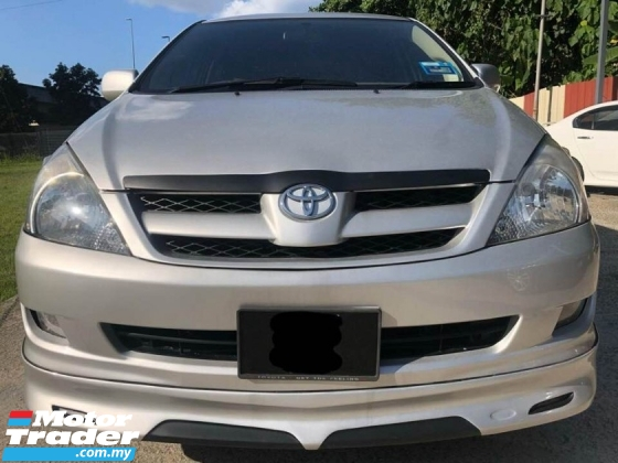 2009 TOYOTA INNOVA 2.0E (MT) LEATHER SEAT TIPTOP CONDITION