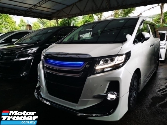 2018 TOYOTA ALPHARD 2.5 SC UNREG.TRUE YEAR CAN PROVE.LESS 50  SST.PILOT SEAT.ORIGINAL MODELLISTA BODYKIT.360 CAMERA