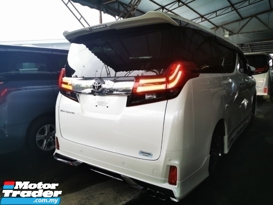 2018 TOYOTA ALPHARD 2.5 SC UNREG.TRUE YEAR CAN PROVE.INCLUDED SST.PILOT SEAT.ORIGINAL MODELLISTA BODYKIT.360 CAMERA.LED DAYLIGHT.MEMORY SEAT N ETC.