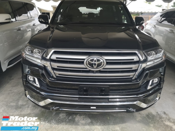 2017 TOYOTA LAND CRUISER ZX G-FRONTIER BLACK LEATHER SELECTION
