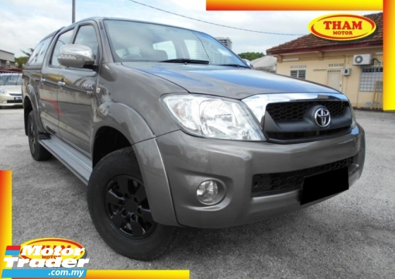 2012 TOYOTA HILUX DOUBLE CAB 2.5G (MT)WITH CANOBY NO OFF ROAD BEST CONDITION LIKE NEW ACCIDENT FREE LOW MILEAGE