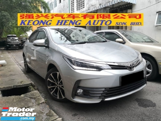 2019 TOYOTA ALTIS 2.0V Full Spec TRUE YEAR MADE 2019 Mil 11k only Warranty 2024 like New Car