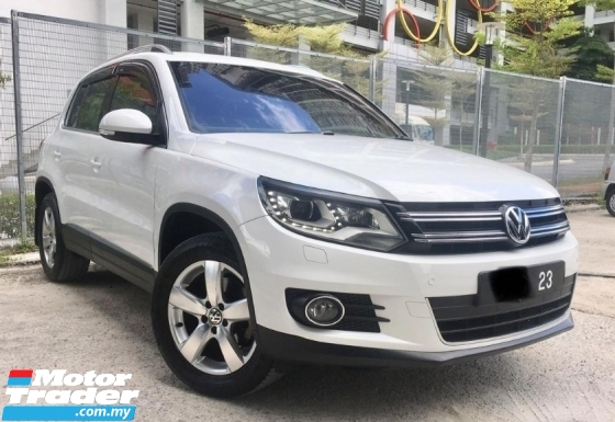2014 VOLKSWAGEN TIGUAN 2.0 TSI SUV(TRUE YEAR MAKE)(UNDER WARRANTY)(FULL SERVICE RECOND)(LOW MILEAGE)(ONE OWNER)