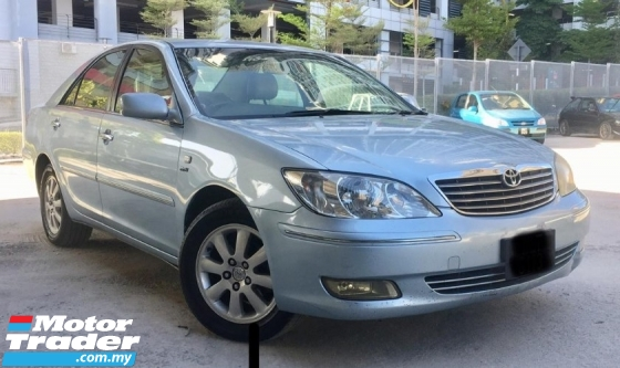 2004 TOYOTA CAMRY  2.4 V Sedan AT (TRUE YEAR MAKE)(LOW MILEAGE)(ONE OWNER)(TIP TOP CONDITION)