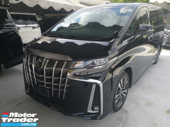 2018 TOYOTA ALPHARD 2018 Toyota Alphard SC. CHEAPEST IN TOWN. Sunroof And Roof TV.
