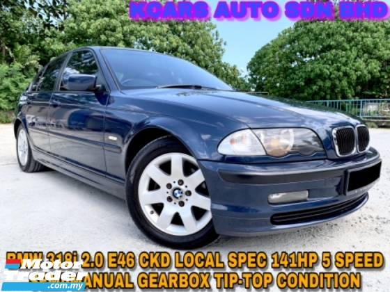 2002 BMW 3 SERIES E46 318I CKD LEATHER SEAT ORI PAINT