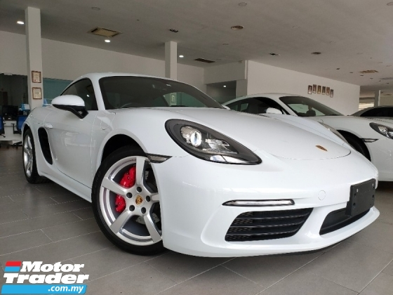 2017 PORSCHE 718 2017 Porsche Cayman 718 2.5L Sport Chrono Bose Sound System Full Leather Japan Spec Unregister for sale
