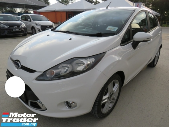 2014 FORD FIESTA 1.6 (A) L SPORT One Lady Owner Service On Time 100% Accident Free High Loan Tip Top Condition Must View