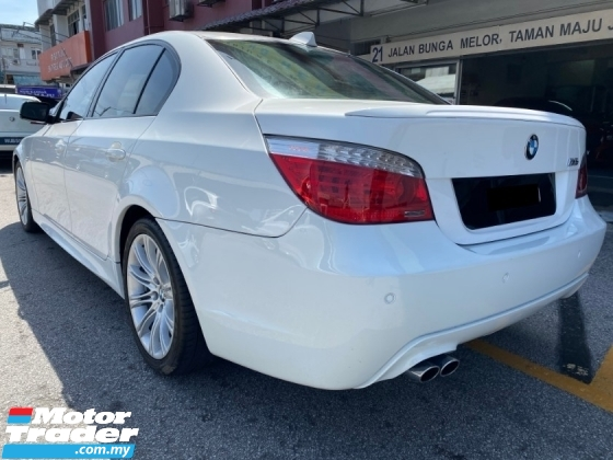 2009 BMW 5 SERIES 525I CKD Facelift M-Sport (FREE 1 YEAR WARRANTY) Actual Year Make 2009