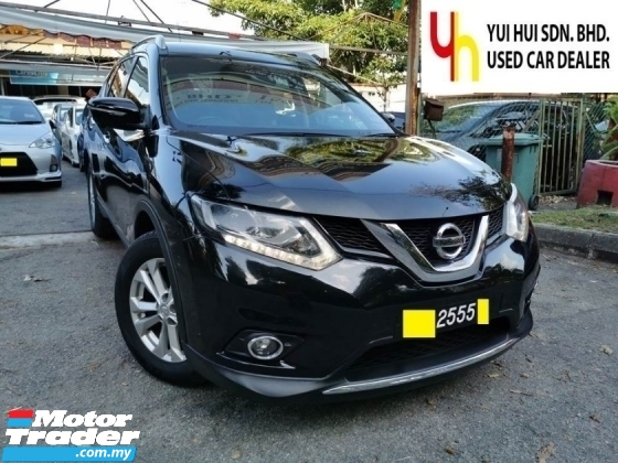 2016 NISSAN X-TRAIL FULL SERVICE RECORD NINE NUMBER FULL SEVEN LEATHER SEAT