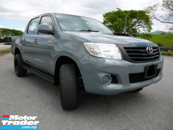 2013 TOYOTA HILUX DOUBLE CAB 2.5G VNT INTERCOOLER TURBO