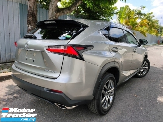 2015 LEXUS NX 2015 Lexus NX200T i Package Sun Roof 4 Camera BSM Pre Crash Full Leather Unregister for sale