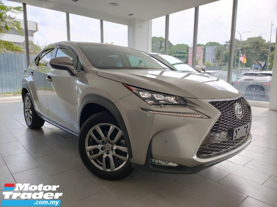 2016 LEXUS NX 2016 Lexus NX200 Version L 4 Camera 360 View BSM Power Boot Leather Unregister