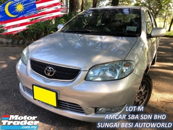 2006 TOYOTA VIOS 1.5G (AT) VVTI FULL SPEC BLACKLIST LOAN