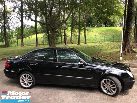 2006 MERCEDES-BENZ E-CLASS E200K ELEGANCE 1.8 (A) KOMPRESSOR 1 OWNER