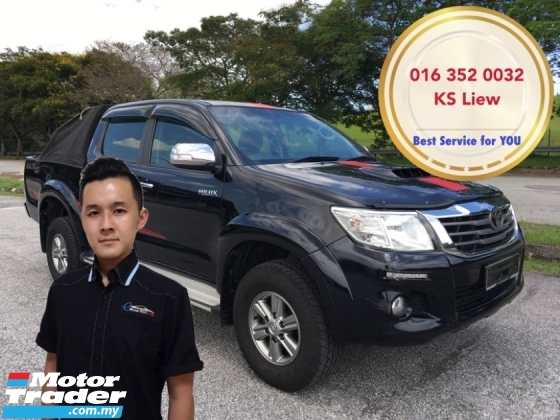 2015 TOYOTA HILUX DOUBLE CAB 2.5G VNT (AT)