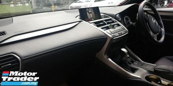 2016 LEXUS NX Lexus NX200t F Sport seround camera