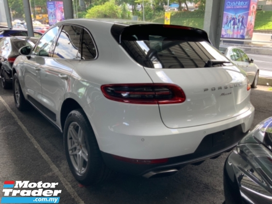 2015 PORSCHE MACAN 2.0 turbo power boot electric seat back left camera sport mode paddle shift PDK PSM unregistered