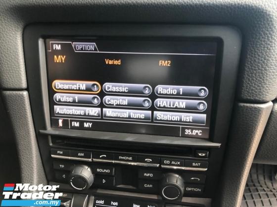 2015 PORSCHE CAYMAN 2.7 PDK 7-Speed Dual-Clutch Transmission PCM Porsche Communication Management 272hp Sport Mode Paddle Shift Bucket Seat Xenon Lights Automatic Rear Spoiler Engine Start/Stop Dual Zone Climate Control Bluetooth Connectivity Unreg
