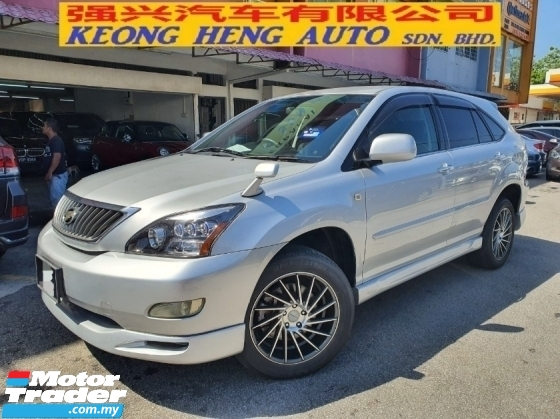 2009 TOYOTA HARRIER 240G L PACKAGE 4WD REG 2011