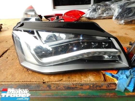 AUDI A8 HEAD LAMP NEW USED RECOND CAR PARTS SPARE PARTS AUTO PART HALF CUT HALFCUT GEARBOX TRANSMISSION MALAYSIA Enjin servis kereta potong separuh murah AUDI Malaysia