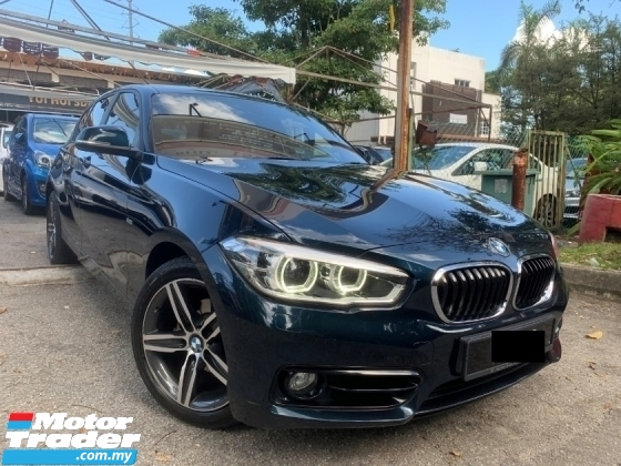 2016 BMW 1 SERIES 1.5 FACELIFT (A) SPORT TWIN POWER 1 OWNER