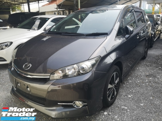 2015 TOYOTA WISH 1.8S/FREE 5 YEARS WARRANTY/PUSH START