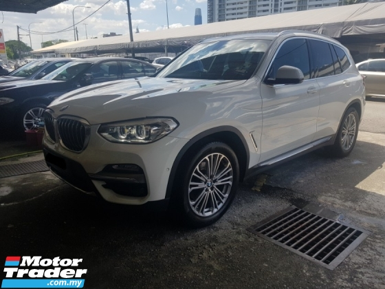 2018 BMW X3 2.0 XDrive30i (A) LIKE NEW