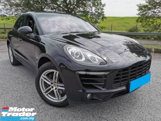 2015 PORSCHE MACAN 2.0 WARRANTY 2YEAR  FULL SERVICE RECORD LOCAL