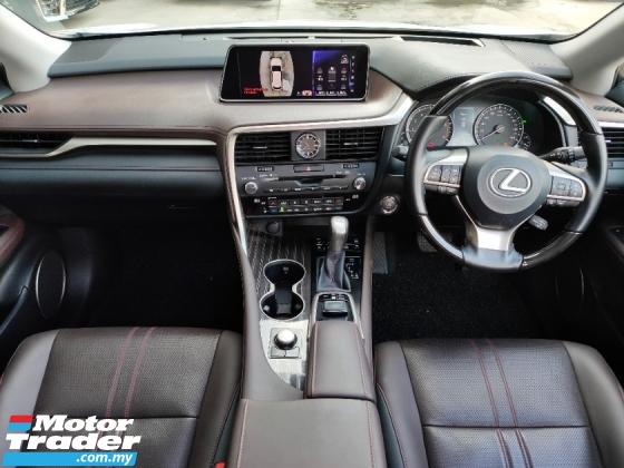 2017 LEXUS RX 2017 Lexus RX200T Version L FULL SPEC Panaromic Roof 4 Camera Pre Crash HUD BSM Leather Power Boot Unregister for sale