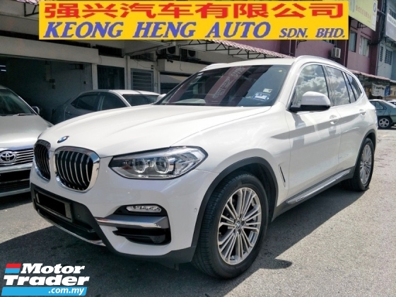 2018 BMW X3 xDRIVE30I 2.0 FACELIFT UW23