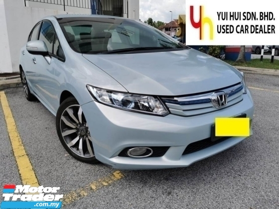 2012 HONDA CIVIC HYBRID 1.5 (A) FULL LEATHER SEAT LADY OWNER