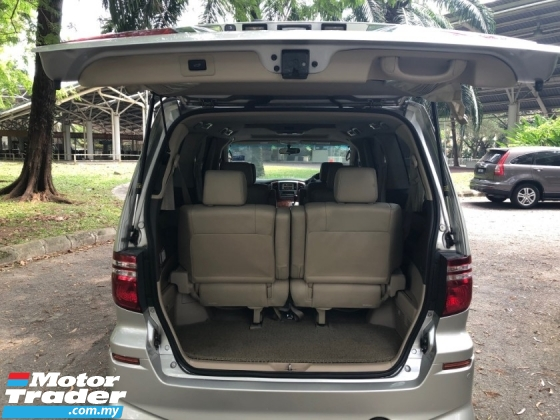 2004 TOYOTA ALPHARD 3.0 MZG (A) P/BOOT P/DOOR S/M ROOF 7 SEAT