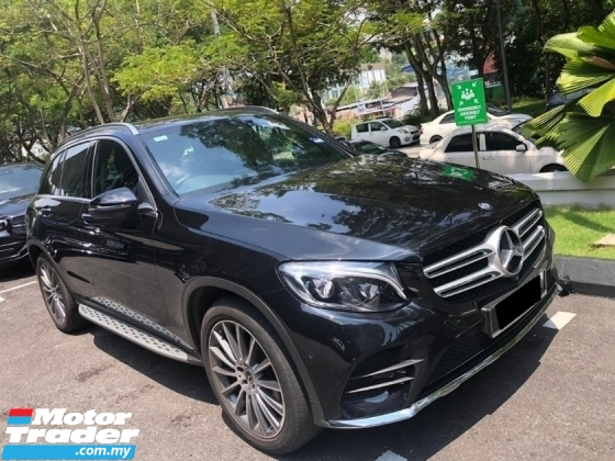 2017 MERCEDES-BENZ GLC 250 AMG IN LINE 4MATIC 2.0 15K KM ONLY WARRANTY TILL 2021 SERVICE RECORD MERCEDES MALAYSIA